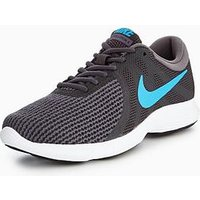 Nike Revolution 4, Grey/Blue, Size 12, Men