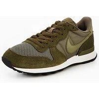 Nike Internationalist SE Trainers, Olive, Size 6, Men