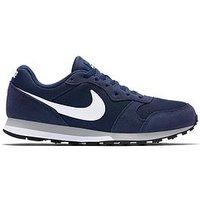 Nike MD Runner 2, Navy/White, Size 9, Men