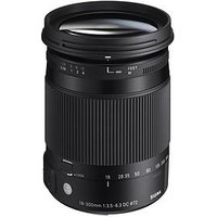 Sigma Sigma 18-300Mm F/3.5-6.3 Dc Os Hsm I C (Contemporary) Travel Lens Canon Fit