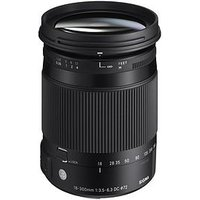Sigma Sigma 18-300Mm F/3.5-6.3 Dc Os Hsm I C (Contemporary) Travel Lens Nikon Fit