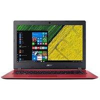 Acer Aspire 1 Intel&Reg; Celeron&Reg;, 4Gb Ram, 32Gb Storage, 14 Inch Laptop With Microsoft Office 365 Personal - Red - Laptop W
