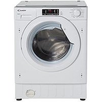 Candy Cbwm816S 8Kg Load 1600 Spin Integrated Washing Machine  - Washing Machine With Installation
