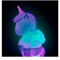 Product photograph showing Fizz Large Unicorn Light
