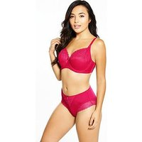 Pour Moi Pour Moi Electra Side Support Underwired Bra, Pomegranate, Size 40Dd, Women