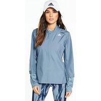 adidas Response Wind Jacket - Grey , Grey, Size 2Xs, Women