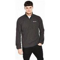 Berghaus Spectrum Micro Half Zip Jacket, Black, Size Xl, Men