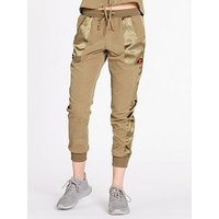 Ellesse Exclusive Commessa Woven Pant - Khaki , Khaki, Size 12, Women