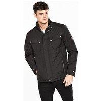 Regatta Lamond Quilted Jacket - Black , Black, Size Xl, Men