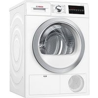 Bosch Serie 6 Wtg86402Gb 8Kg Load Condenser Tumble Dryer With Allergy+ Programme - White