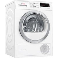 Bosch Serie 4 Wtm85230Gb 8Kg Tumble Dryer With Heat Pump Technology - White