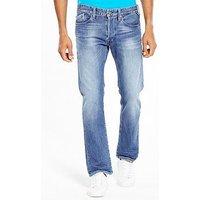 Replay Waitom Regular Slim Fit Jeans, Mid Blue, Size 30, Length Long, Men
