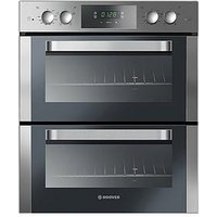 Hoover Ho7D3120In 60Cm Built Under Double Electric Oven - Black