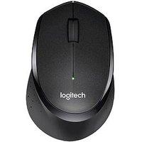 Logitech M330 Silent Plus Mouse - Black