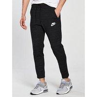 Nike Sportswear AV15 Knit Pants, Black, Size M, Men