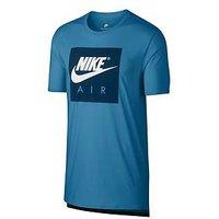 Nike Sportswear Air T-Shirt, Aegean Storm, Size Xl, Men