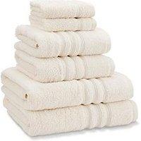 Catherine Lansfield Zero Twist 6 Piece Towel Bale 450Gm