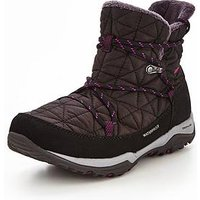 Columbia Loveland™ Shorty Omni-Heat™ - Black/Purple , Black/Purple, Size 6, Women