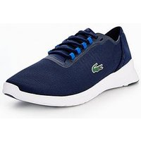 Lacoste Lt Fit 118 4 Spm Trainer, Navy, Size 12, Men
