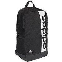 adidas Older Boy Linear Backpack, Black