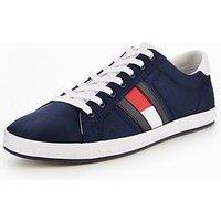 Tommy Hilfiger Tommy Hilfiger Essential Flag Detail Sneaker, Navy, Size 9, Men