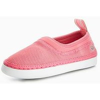 Lacoste L.ydro 118 1 Slip On, Pink, Size 5 Older