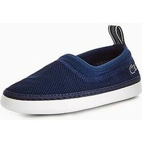 Lacoste L.ydro 118 1 Slip On, Navy, Size 12 Younger