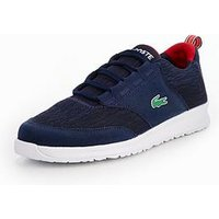 Lacoste L.ight 118 4 Lace Trainer, Navy, Size 5 Older