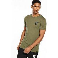 11 Degrees Core Tshirt, Khaki, Size Xs, Men