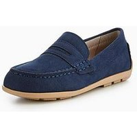 Mini V by Very Henry Loafer, Navy, Size 5 Younger