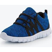 V by Very Issac Trainer, Blue, Size 10 Younger