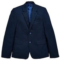 Boys, V by Very Occasion Wear Smart Suit Jacket, Navy, Size Age: 11 Years