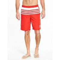 Henri Lloyd Nes Swim Short, Red, Size S, Men