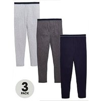 Boys, V by Very 3 Pack Loungewear Bottoms, Multi, Size Age: 10 Years