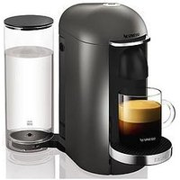 Nespresso Xn900T40 Vertuo Plus Coffee Machine By Krups - Titanium