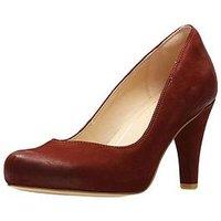 Clarks Dalia Rose Platfrom Court Shoe, Rust, Size 7, Women