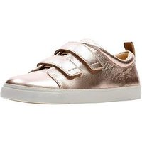 Clarks Clarks Glove Daisy Trainer, Rose Gold, Size 3, Women