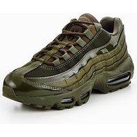 Nike Air Max 95 - Khaki , Khaki, Size 4, Women