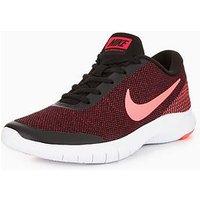 Nike Flex Experience RN 7 - Black/Pink , Black/Pink, Size 4, Women
