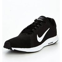 Nike Downshifter 8 - Black/White , Black/White, Size 4, Women