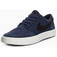 Nike SB Portmore II Junior Trainer, Blue, Size 4