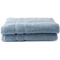 Silentnight Silentnight Zero Twist Pack 2 Bath Towels