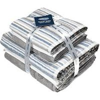 Product photograph showing Silentnight Silentnight Zero Twist 4 Piece Towel Bale