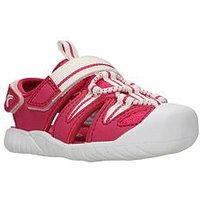 Clarks Rapid Bay First Sandal, Raspberry, Size 5 Younger