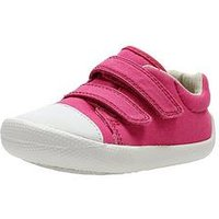 Clarks Tiny Treasure First Shoe, Pink, Size 4.5 Younger