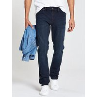 Tommy Jeans Steve Slim Tapered Jean, Black, Size 34, Inside Leg Short, Men