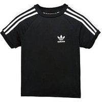 Boys, adidas Originals Younger Boy Californian Tee, Black, Size 5-6 Years