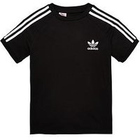 Boys, adidas Originals Adidas Originals Older Boy California Tee, Black, Size 8-9 Years