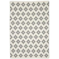 Mamas & Papas Mamas & Papas Grey Diamonds Rug, Grey