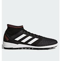 adidas Predator 18.3 Astro Turf Football Boots, Black/Red, Size 6, Men